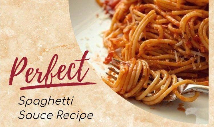 Perfect Spaghetti Sauce Recipe Every Time @MyCraftyZoo