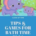 Clean Up Time: Tips & Games For Make Bath Time Fun #CleverPublishing
