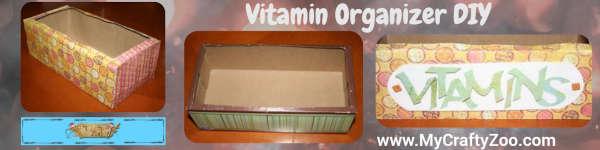 Step By Step Vitamin Organizer