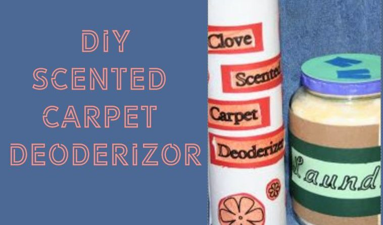 Carpet Deodorizer Easy DIY Recipe