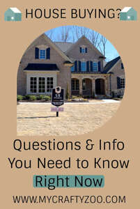 House Buying: Questions and Info You Need to Know Right Now @Crafty_Zoo