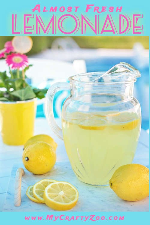 Almost Fresh Lemonade: Refreshing and Delicious @Crafty_Zoo Recipe
