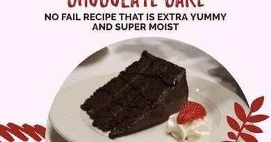 Chocolate Cake Extra Yummy, Super Moist No Fail Recipe
