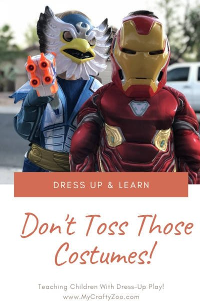 Dress Up & Learn: Lessons Through Dress-up @Crafty_Zoo
