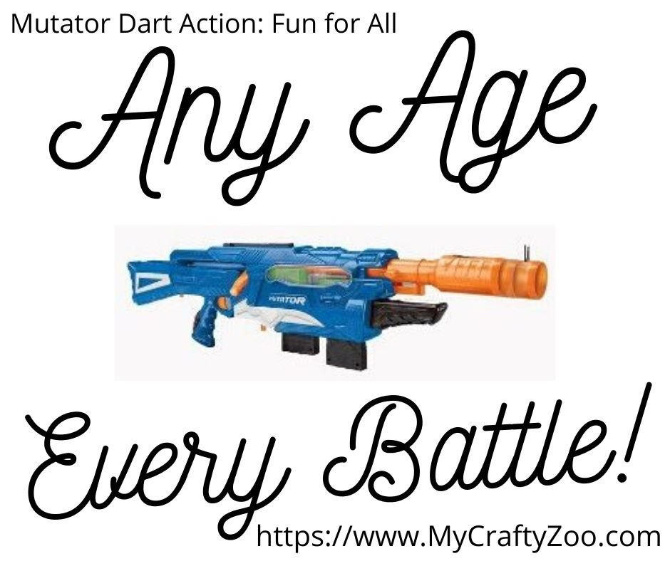 Mutator Dart Action: Any Age, Every Battle!