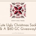 Ugly Christmas Socks Giveaway