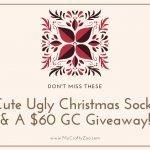 Ugly Christmas Socks Giveaway