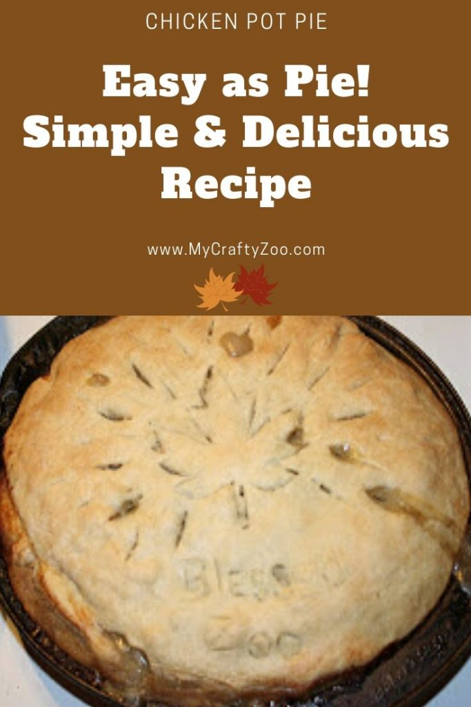 Chicken Pot Pie: Homemade Simple