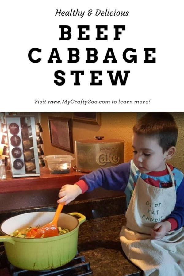 Healthy & Delicious Beef Cabbage Stew