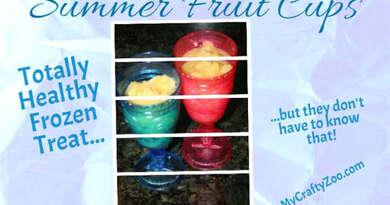 Summer Fruit Cups: Healthy, Delicious Frozen Treat