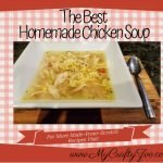 Best Homemade Chicken Soup #Recipe