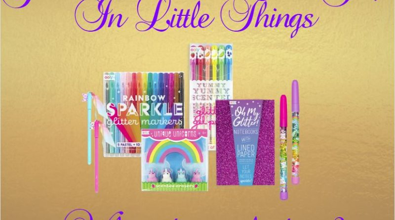 Glitter, Shine and Finding Joy In Little Things