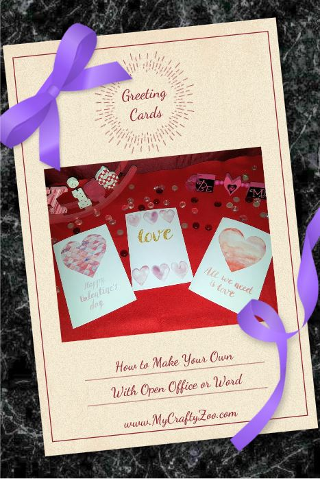 Greeting Cards: Print Your Own Now