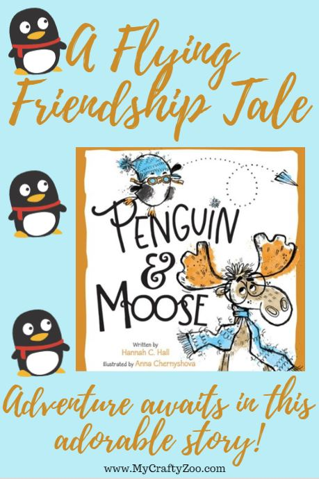 Penguin and Moose: Flying Friendship Tale
