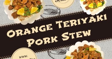 Orange Teriyaki Pork Stew: Easy, Healthy & Nutritious