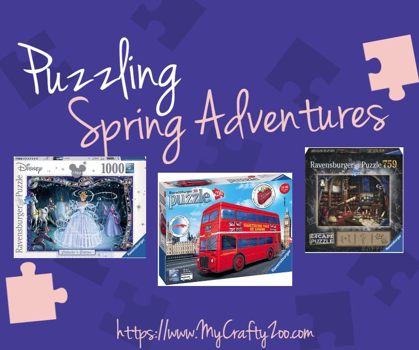 Puzzling Spring Adventures with @Ravensburger