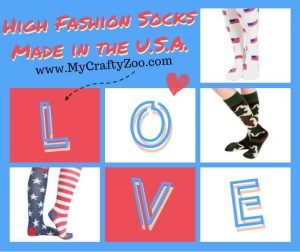 Fashion Socks For the Ladies: Made in the USA