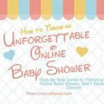 Online Baby Shower: How to Make It Unforgettable