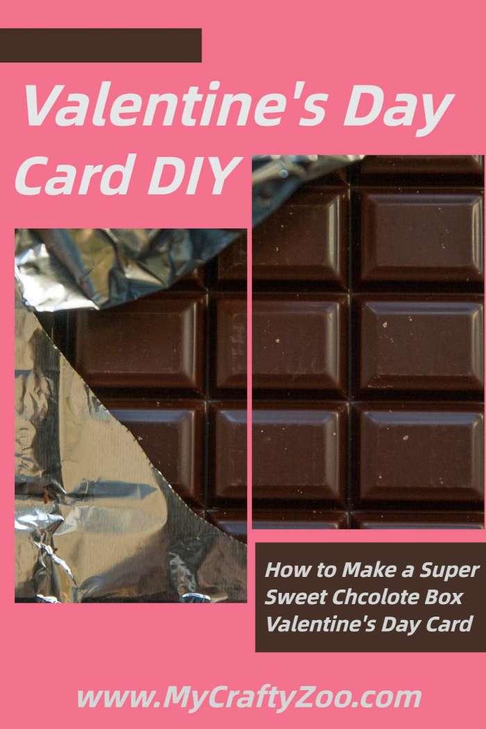 How to Make a Super Sweet Valentine Chocolate Box Card @Crafty_Zoo
