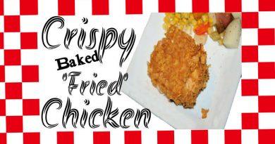 Oven 'Fried' Chicken for Crispy Baked Goodness