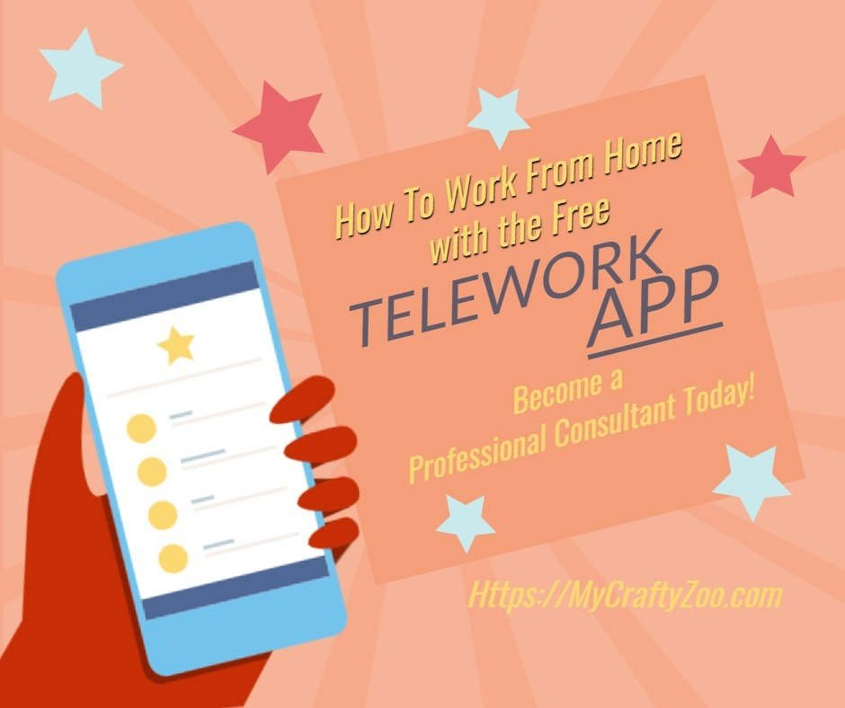 How to Work From Home With the Free Telework App @MyCraftZoo