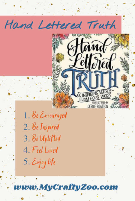 Hand Lettered Truth: Be Encouraged, Uplifted, Loved @Crafty_Zoo