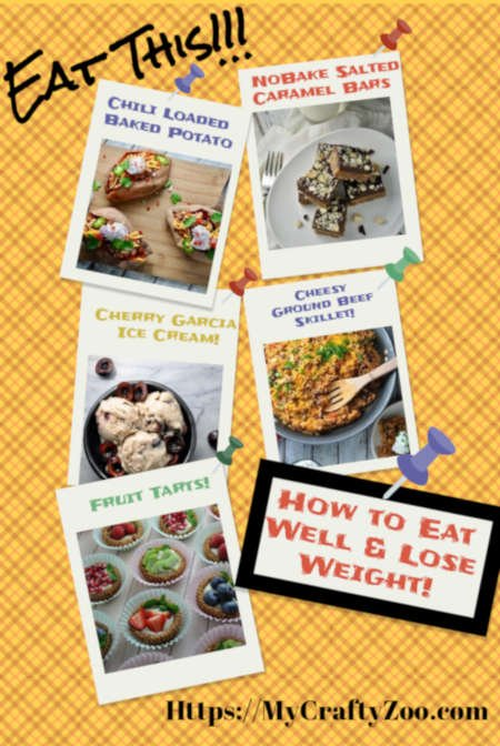 Eat This! How to eat well & LOSE WEIGHT