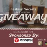 Fashion Secrets Back to School Giveaway