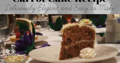 Old Fashion Carrot Cake: Delicious, Homemade Goodness