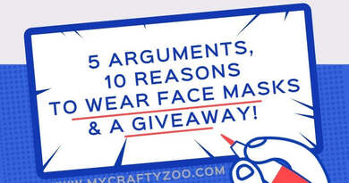 5 Arguments & 10 Reasons To Wear Face Masks + a Giveaway