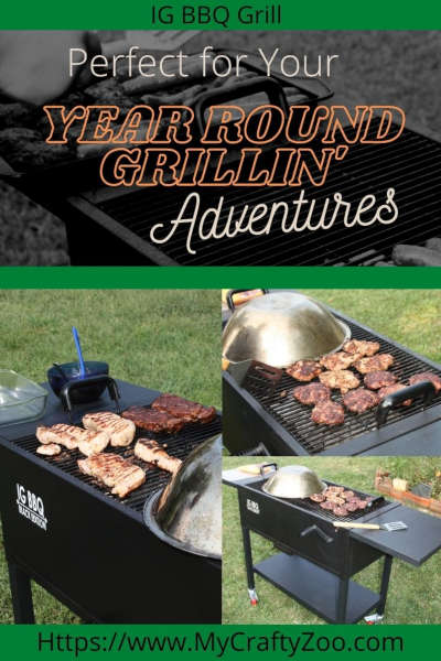 IG BBQ Grill Perfect for Your Year Round Grillin' Adventures @Crafty_Zoo