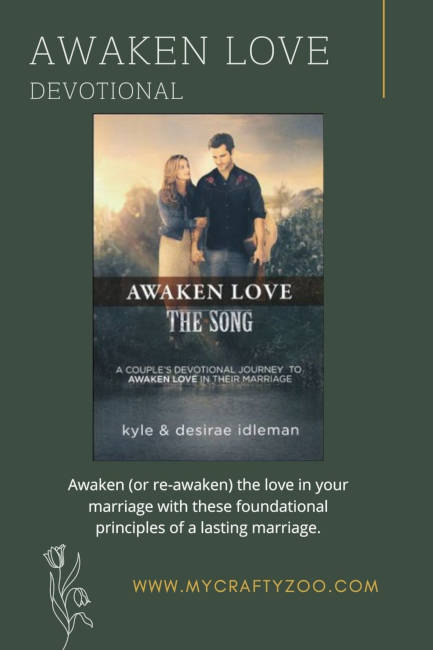 Awaken Love Devotional: Awaken the Love in Your Marriage @Crafty_Zoo