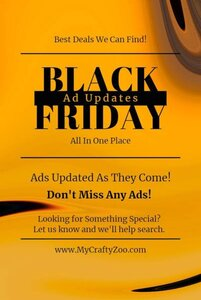 Black Friday Ads & Deals 2020: Updated Automatically @Crafty_Zoo