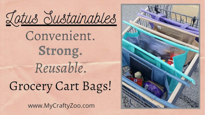 Lotus Sustainables: Convenient. Strong. Reusable. Grocery Bags