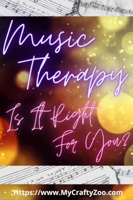 Music Therapy & Music Lesson Giveaway @Crafty_Zoo
