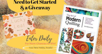 Quilling: Everything You Need to Get Started & a Giveaway