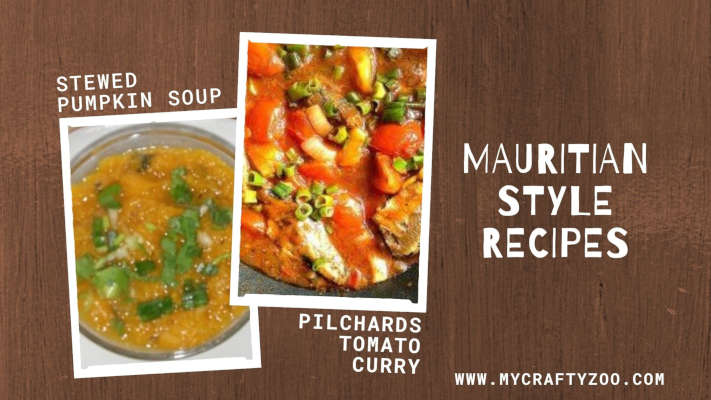Pilchards Tomato Curry and Stewed Pumpkin Soup Recipes