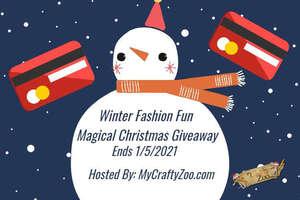 Winter Fashion Fun Magical Christmas Giveaway