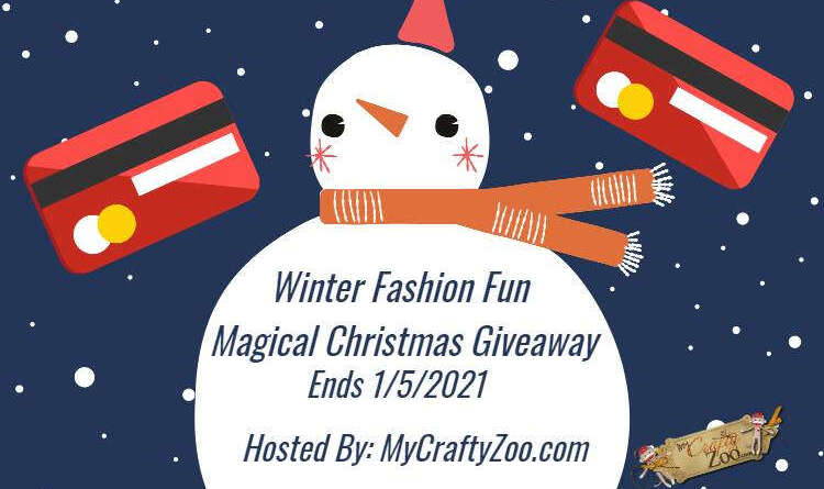 Winter Fashion Fun Magical Christmas Giveaway