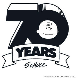 Charles Shultz' Peanuts 70th Anniversary