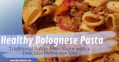 Meat Sauce: How to Make Crave Worthy Healthy Pasta @MyCraftyZoo