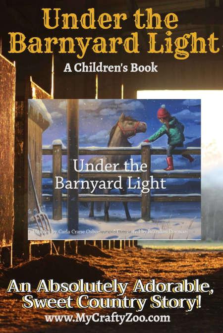 Under the Barnyard Light: Sweet Country Book @Crafty_Zoo @UnderTheBarnyardLight