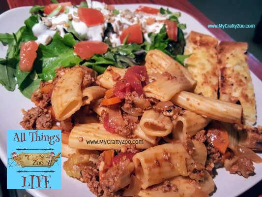 Healthy, Fast & Delicious Bolognese Pasta Recipe