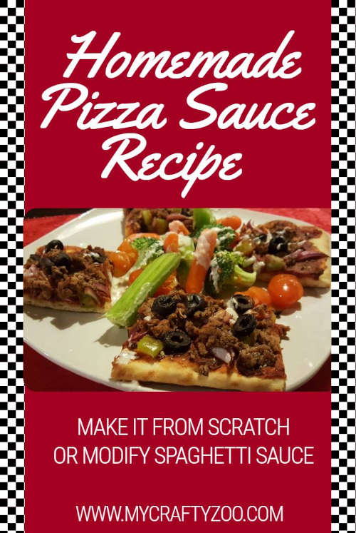 Pizza Sauce: How to Make Superb Sauce From Scratch Or Not @Crafty_Zoo