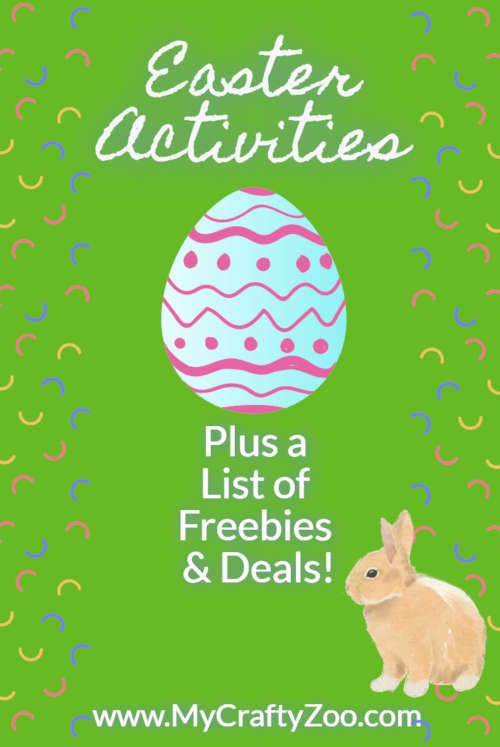Easter Activities, Freebies and Deals For Everyone