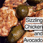 One Skillet Meal: Healthy Sizzling Chicken and Avocados @Crafty_Zoo