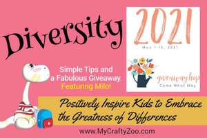 Diversity: Positively Inspire Embracing Differences +Giveaway Hop