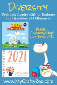 Diversity: Teaching How to Embrace Differences with Milo @Crafty_Zoo