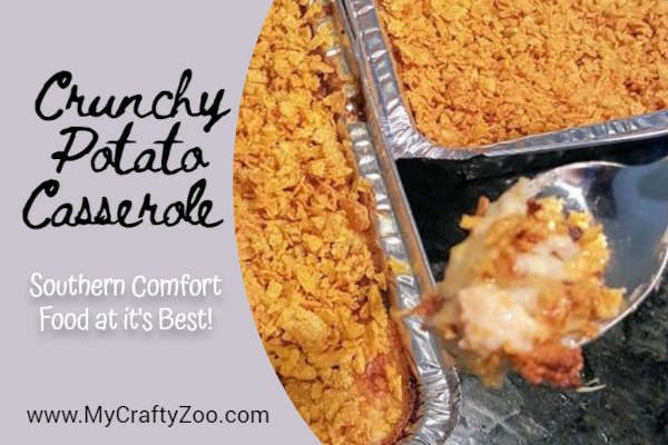 Crunchy Potato Casserole: How to Make People Smile with this Delicious Recipe