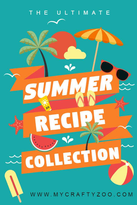 Summer Recipes Collection: Perfect Foods for BBQs & Picnics @Crafty_Zoo